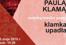 Konin. Paula Klama  - autorka tomiku i jej poezja w bibliotece