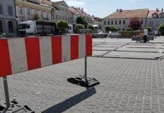 Zmiany w ruchu na placu Wolności. Przygotowania do 40. festiwalu