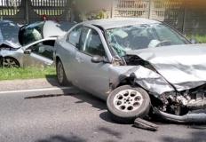 Spławie. Zderzyły się dwa samochody. Jedna osoba została ranna