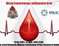 Konin. Strażacy i policjanci zapraszają do udziału w zbiórce krwi