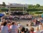 Muzyka nad rzeką. Koncertowała Orkiestra Dęta PAK KWB Konin
