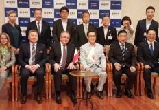 Wizyta w zakładach produkcji wodoru. Prezydent wrócił z Japonii
