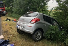Tragiczny wypadek. Kierowca zginął na miejscu. Dziecko w szpitalu