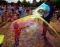 Bawili się na Festiwalu Baniek Mydlanych na konińskim Chorzniu