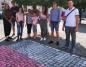Konin. Namalowali flagę Polski i upamiętnili Poznański Czerwiec '56