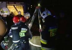 Wygoda. Strażacy uratowali psa uwięzionego w studzience
