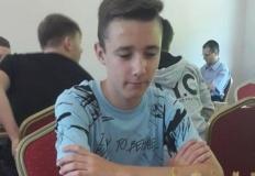 Szachista UKS Smecz gra w Drużynowych Mistrzostwach Europy