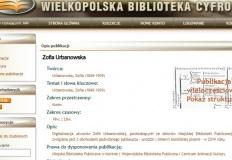 Utwory Zofii Urbanowskiej zostały zdigitalizowane. Cyfrowe książki