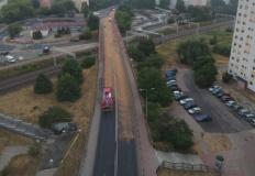 Konin. Usunięto wyciek, a ulica Przemysłowa znowu przejezdna