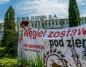Protest przed KWB. ,,Niech Solorz wycofa się z nowych odkrywek