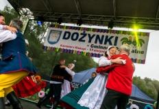 Kazimierz Biskupi.Wojewoda i wójt dziękowali rolnikom za pracę