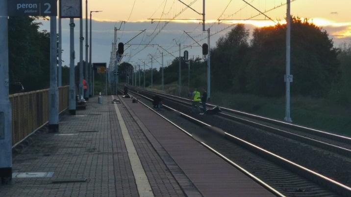 Tragedia w Spławiu. Nie żyje mężczyzna potrącony przez pociąg