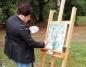 Pejzaże wyobraźni, czyli plener malarski w radolińskim parku
