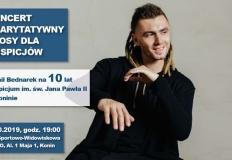 """Koncert charytatywny """"Głosy dla Hospicjów"""" - Kamil Bednarek"""