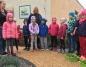 Przedszkolaki odwiedziły ogród sensoryczny przy SOSW w Koninie