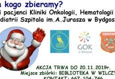 Wilczyn. Onko-Mikołaje zbierają zabawki dla małych pacjentów