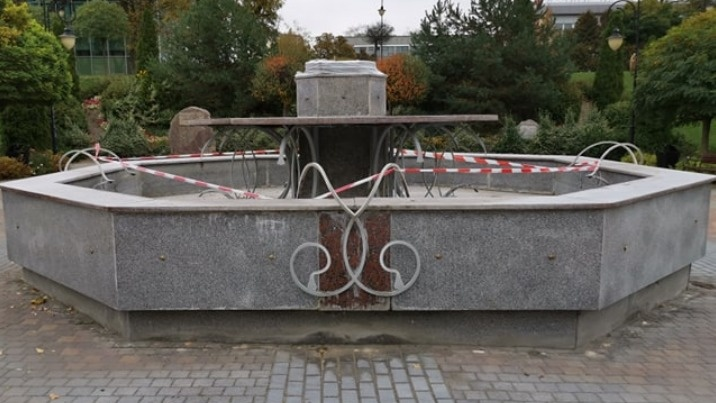 Konin. Fontanna bez konia. Symbol miasta został zdemontowany