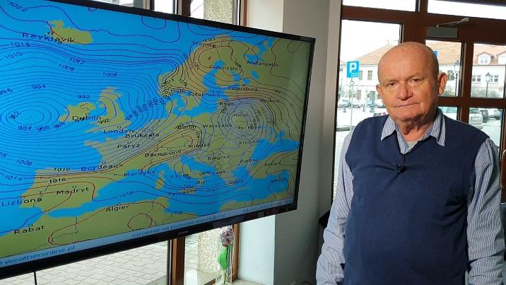 Pogoda wg Kazimierza Gmerka. Ładne Święto Niepodległości