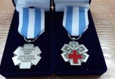 Konin. Policjanci wyróżnieni odznaką honorowego dawcy krwi