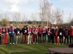 Golfiści zagrali w Golinie z okazji rocznicy odzyskania niepodległości