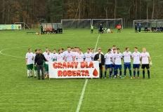 Piłkarze Górnika i Sokoła w jednym geście dla 15-letniego Roberta