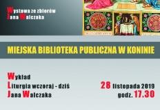 Konin. Wystawa ksiąg liturgicznych w Miejskiej Bibliotece Publicznej