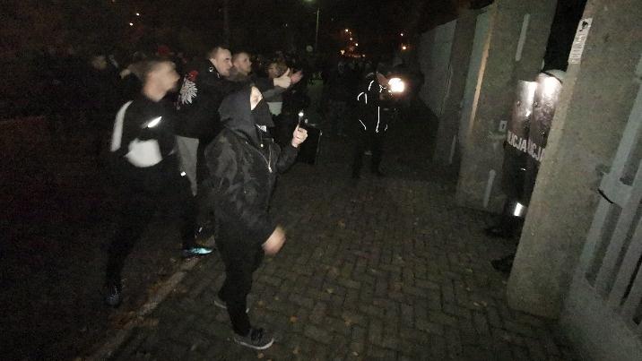 Konin. Dwie osoby zatrzymane po zamieszkach trafiły do aresztu