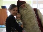 Św. Mikołaj w konińskim szpitalu. Odwiedził małych pacjentów