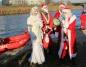 Święty Mikołaj przypłynął do Konina łodzią. Zabawa na rynku