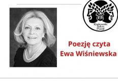 Konin. Ewa Wiśniewska czyta poezję w świątecznym salonie poezji