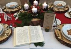 Świąteczne konkursy w ZSEU w Żychlinie i najpiękniejsze stoły