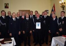 Jednostka OSP w Broniszewie uhonorowana specjalną odznaką