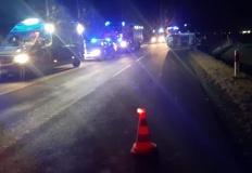 Kryszkowice. Zderzenie dwóch samochodów w sobotni wieczór