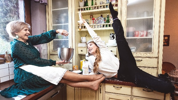 Dzień Babci, czyli taneczna miłość Michaliny i jej babci Teresy