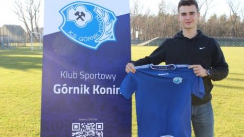 Piłkarz Zagłębia Lubin w Górniku Konin. Już strzelił dwa gole