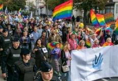 Organizatorzy Marszu Równości i Tolerancji przeciw dyskryminacji