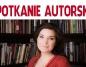 Spotkanie autorskie z Magdaleną Kordel w MBP. Konin lubi książki