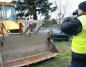 Słupca. Policjanci odzyskali skradzioną koparko-ładowarkę