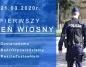 Policja apeluje: 21 marca, pierwszy dzień wiosny, spędź w domu!