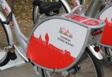 Konin. Zamknięty park i zakaz korzystania z rowerów miejskich