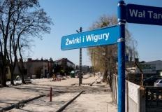 Prowadzone są remonty konińskich ulic: Leśnej oraz Żwirki i Wigury