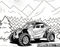 Kamena Rally Team zaprasza dzieci do konkursu. Pomaluj pojazd!