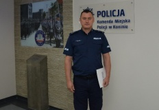 Konin. Zmiana naczelnika prewencji w Miejskiej Komendzie Policji