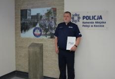 Konin. Komenda Miejska Policji ma nowego zastępcę komendanta