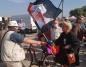Szarpanina na konińskim bazarze przed wizytą Andrzeja Dudy
