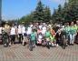 Po raz pierwszy rodzinny rajd rowerowy przejechał wokół Lichenia