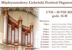 Licheń. Koncerty organowe w letnie niedziele o 14.30 w bazylice