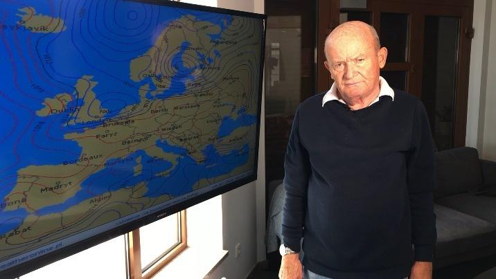 Pogoda według Kazimierza Gmerka. Nadchodzi ochłodzenie