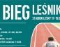 Sportowy weekend: Bieg Leśnika w Słupcy, regaty w Powidzu