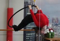 W Studiu Tańca Rytmix warsztaty akrobatyczne z kołem cyrkowym